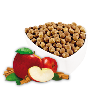 Apple and Cinnamon Soy Puffs
